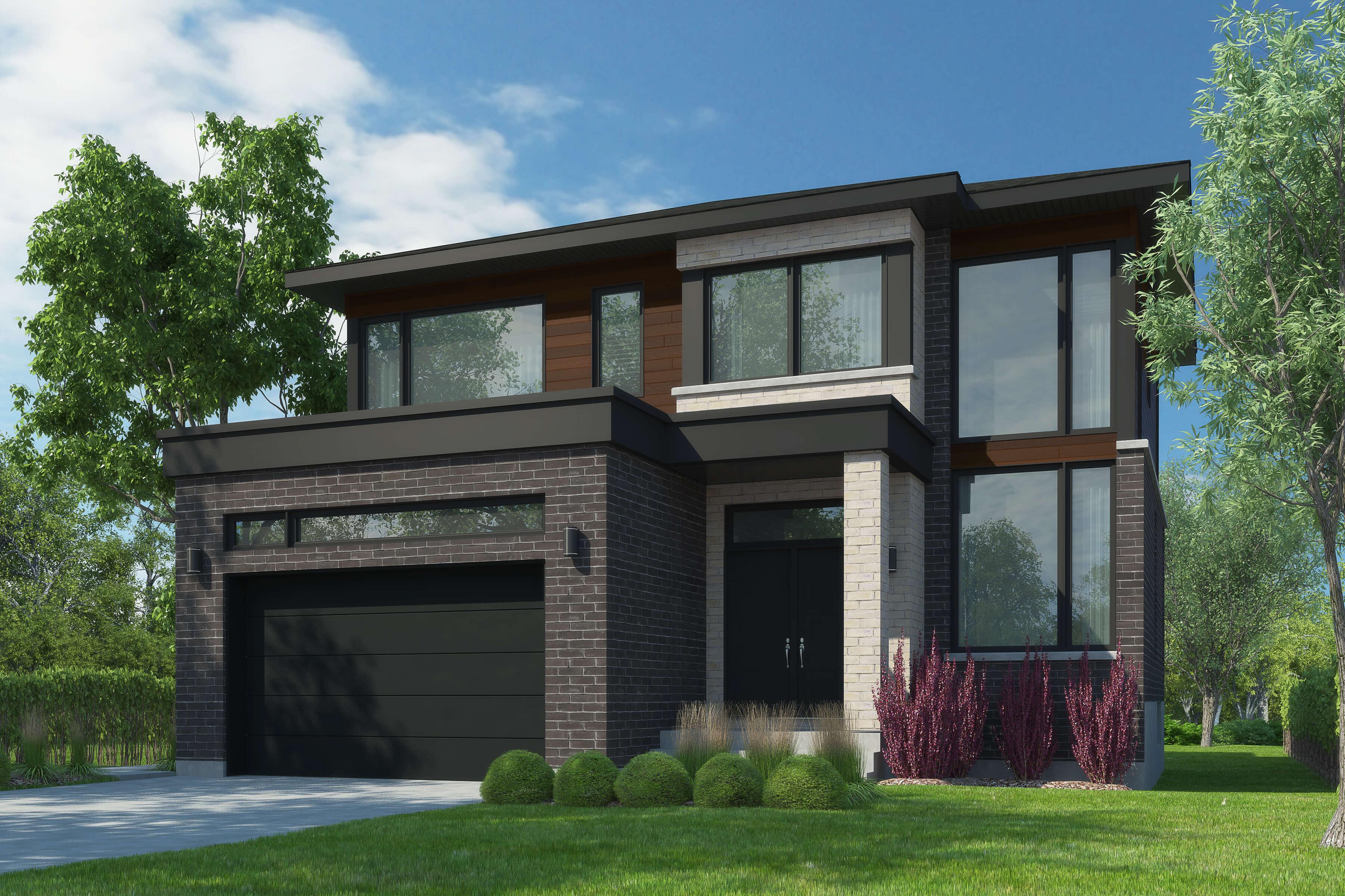 Construction de maisons neuves maisons neuves for Projet de construction terrain maison